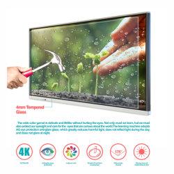 Scheda digitale portatile intelligente ultrasottile SKD da 55 pollici T6h55D Multi-Touch Lavagna bianca