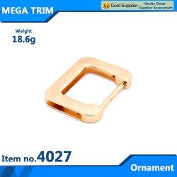 In metallo quadrato con borsa ornamentale ben rinomato