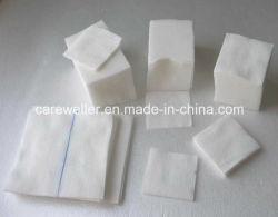 Esponja absorbente médica de gasa de algodón desechable W / O de rayos X