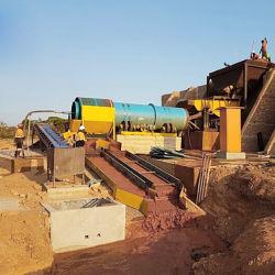 Placer Trommel fine Gold processo di lavaggio Scrubber Mining Equipments
