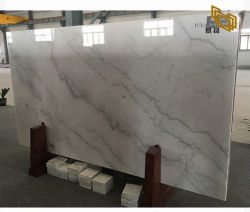Китай каррарского мрамора белого камня слои REST для кухни и ванной комнатой/строительство/пол и стены