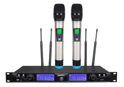 100% d'origine Yeamic microphone sans fil UHF, 100m de distance de fonctionnement avec 256 numéros de fréquence pour les multi sélection de choix
