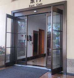 Saída de emergência da porta corrediça automático do vidro corrediço de porta automática do sistema com a divisão de Pânico