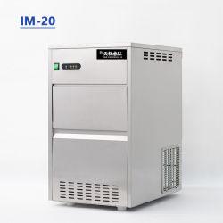 Accueil Nugget Mini Machine à glaçons 20kg/24h sous Compteur Bloc de glace à petit tube commerciale de la machine