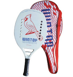 Nuova racchetta di tennis della spiaggia di stile