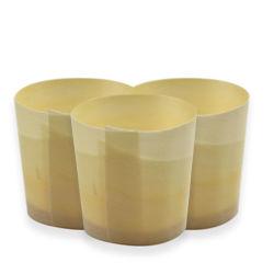 Venta caliente ecológica de vajilla de madera de álamo desechables Cup