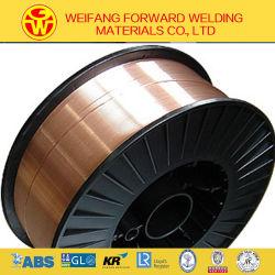 0,9 mm-15kg/Spool-Er70S-6/SG2-550MPa solide sur le fil de soudure du fabricant de produits de soudage