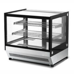 Коммерческие кухонном столе охлажденных кондитерский прилавок булочной угла поворота вправо на дисплее системы охлаждения шкафа с светодиодный индикатор