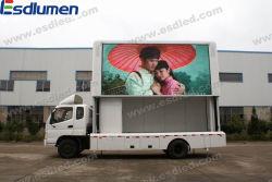 Наружная реклама полноцветный светодиодный дисплей подвижной Screentrailer P16