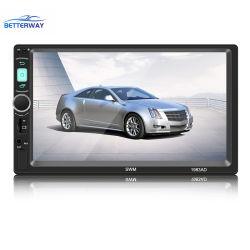 2 DIN de 7 polegadas sensível ao toque de alta definição a rádio FM carro MP3 Video Player de DVD de MP4 com USB TF DP Aux carro da Câmara de Ré leitores de MP5