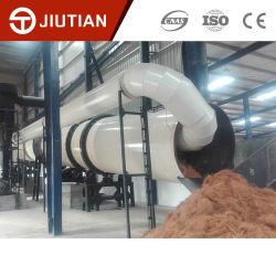 L'Indonesia ampiamente usata pianta l'essiccatore rotativo della fibra di noce di cocco sulla vendita