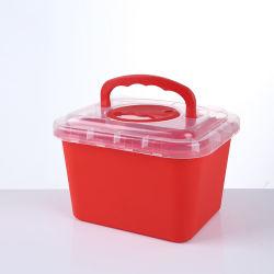 بالجملة [5ليتر] [فدا] يوافق بلاستيكيّة طبّيّ مستهلكة [بيوهزرد] أمان وعاء صندوق