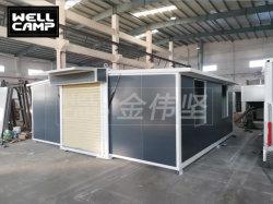 2 slaapkamers lage prijs aangepaste Expandable Container House