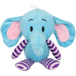 Дешевые Custom Приятный мягкий фаршированные слонов мягкие животных детский подарок кукла игрушки
