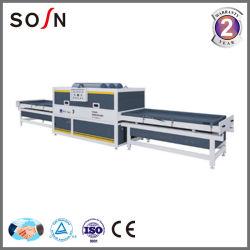 Máquina laminadora de vacío para el gabinete de prensa de membrana de vacío y la puerta haciendo