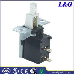 Empurre os pinos de alimentação 2 no interruptor de botão de desligamento para TV/DVD/VCD