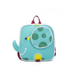 Lindo diseño de los animales del zoo Bebés Niños pequeños los niños y niñas Anti-Lost Arnés de seguridad de la escuela jardín de infantes mochila con correa