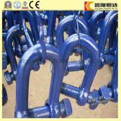 調節可能な1035鋼鉄を造る弓手錠によって着色される鋼鉄手錠