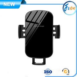 홀더를 가진 새로운 기우는 제품 5W 10W 15W 자석 이중 기능 자동적인 Qi 빠른 차 무선 충전기
