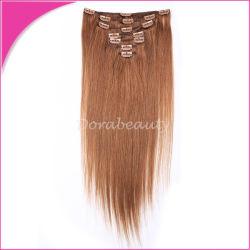 Cheap Indian Remy les pinces à cheveux sur les cheveux de la trame