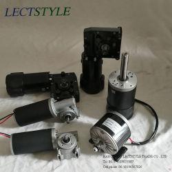 24 В постоянного тока 300 Вт червячная шестерня редуктора двигателя на проводе съемник и глиняным голубям Индикаторный стержень