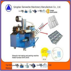 Matten-automatische Dichtungs-Verpackmaschine des Moskito-Sww-240-6 mit Aluminiumfilm