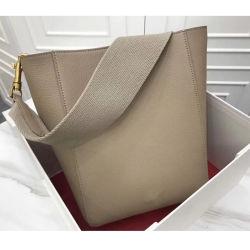 وصول جديد حقائب اليد حقائب اليد الفاخرة الجلدية الحقيقية حقائب اليد مصمم تريت السيدة بالجرافة