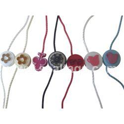 Bijoux personnalisés Watch Vêtements pendre les tags avec chaîne ronde et le vêtement accessoires (par80114)