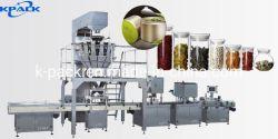 La mise en conserve de gros grains de café machine de conditionnement des produits alimentaires de collation
