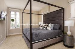 فندق [ووودن فرم] غرفة نوم أريكة كرسي تثبيت أثاث لازم يثبت مع بناء لوحة رأسيّة