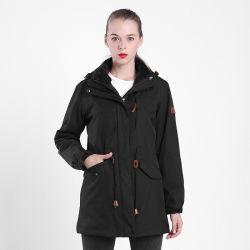 Осень мужская трикотажные флис черный пальто OEM куртки куртка