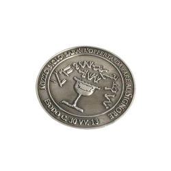Moneta simbolica di prezzi della fabbrica del metallo del gioco d'argento d'ottone su ordinazione poco costoso diretto di divertimento per il distributore automatico a gettoni