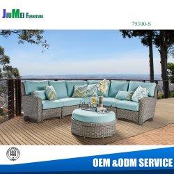 La mobilia esterna del patio del giardino batte giù il sofà d'angolo sezionale del rattan (79300-sectional)