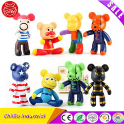 Adorável ostentar a figura de vinil PVC brinquedos