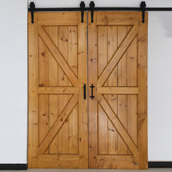 As portas interiores moderno deslizando as portas do armário de madeira cor tipo K Dupla Porta