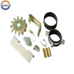 Supports tôle personnalisé de pièces de composants en acier inoxydable aluminium emboutissage perforation de fabrication de l'Estampage par l'outillage du moule