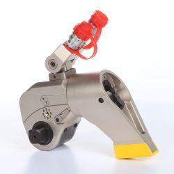 正方形駆動機構の油圧トルクレンチを収納している単ボディ