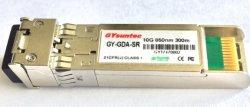 10g SR 850mm Mmf 300m SFP+ de Zendontvanger Cisco van de Vezel van de Module