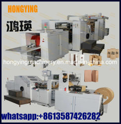 Max. speed 220 GCV Kraft Paper Bag Making Machine, Kraft Paper Bag Making Machine