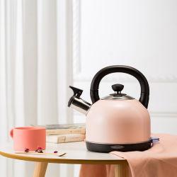 Het Geborstelde Roestvrij staal van het Toestel van de Keuken van de Maker van de thee 1.8L kookt Ketel van de Koffie van Temparsture van de Digitale Controle van de Melk de Draagbare Elektro