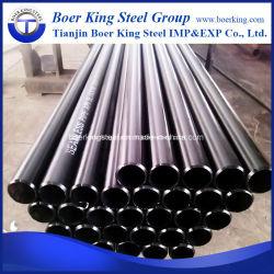 API 5L1/ LSIP LSIP2 Fabricant de tuyaux en acier au carbone sans soudure (noir SMLS tube en acier pour le pipeline de pétrole et gaz) Gr. B X42 X52, X60, X65, X70, X80 sch40