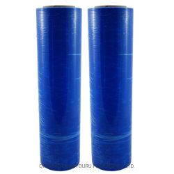 Растянутый голубой Film Roll поддон для обвязки сеткой рукой