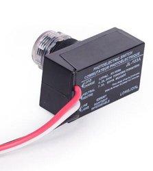 Padrão ANSI e UL de fio no controlador, sensor fotográfico,