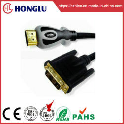 Позолоченный разъем HDMI - DVI