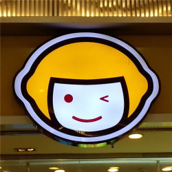 Вакуумформованный рекламы светодиодные системы освещения входа платы