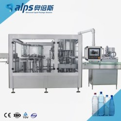 Альпы машин 200мл-2Л 800bph-2000bph самоуправления автоматическая стиральная машина литьевого формования бутылок Filiing