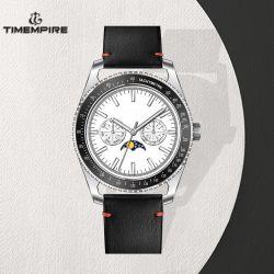 Les hommes de haute qualité Watch Bracelet Cuir montre-bracelet multifonction Ventes en gros (72683)