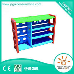 子供の家具の棚を集めるプラスチック収納キャビネットのおもちゃ