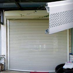 Türen/automatische Aluminiumrollen-/Walzen-Blendenverschluss-Garage-Tür (77mm einlagige Latten) oben rollen