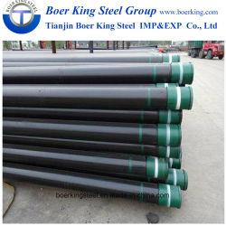 2018 J55/K55/N80/L80/P110 de l'huile du tuyau de caissons sans soudure